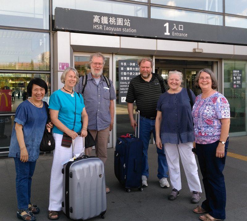 Moderator Arrives in Taiwan